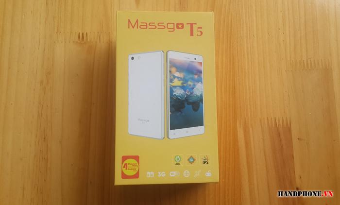 Mở hộp điện thoại cao cấp thương hiệu Việt Massgo T5