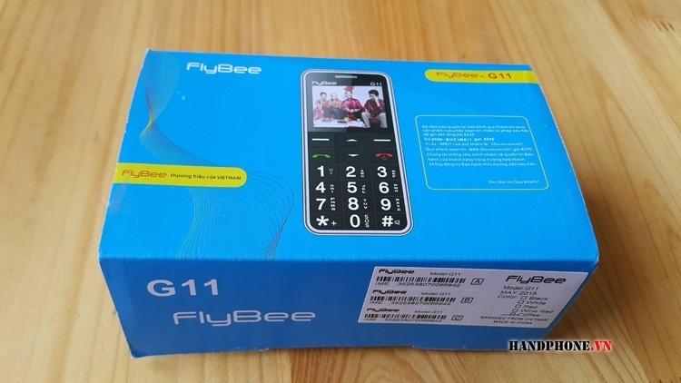 Mở hộp điện thoại dành cho người già giá rẻ Avio Flybee G11 của Vinaphone