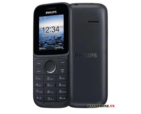 Mở hộp chiếc điện thoại 2 sim giá rẻ Philips E101