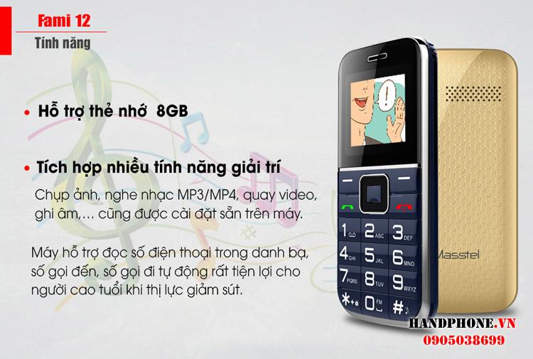 Viettel X6216, Vinaphone Flybee G11, Kechaoda K8, Masstel Fami2 - 9