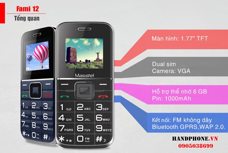 Viettel X6216, Vinaphone Flybee G11, Kechaoda K8, Masstel Fami2 - 5