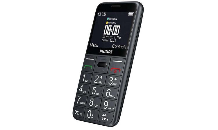 Mở hộp điện thoại dành cho người già Philips E310