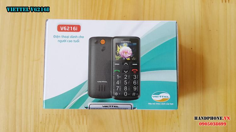 Mở hộp điện thoại dành cho người già Viettel V6216i