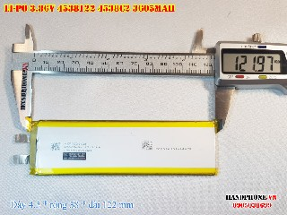 3 Lipo 3605mAh 4538122 386v battery