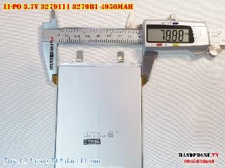 2 Lipo 4950mAh 3279111 37v battery