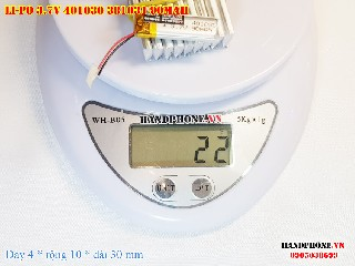 bán pin Lithium Polymer  Li Po  3 7V 90mah 401030 381031 tại hà nội Battery