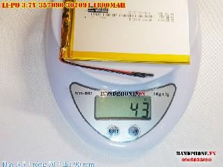 bán pin Lithium Polymer  Li Po  3 7V 1800mah 357090 307091 tại hà nội Battery