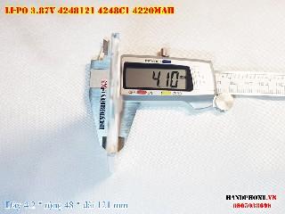 1 Lipo 4220mAh 4248121 37v battery