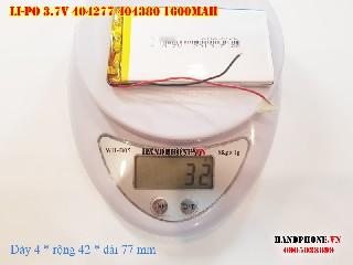 3 Lipo 1600mah 404277 37v battery
