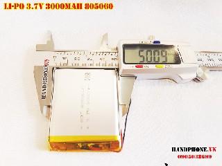 Pin Li Po 3 7V 805060 3000mAh bán tại Hà Nội Lithium Polymer