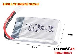 Pin Li Po 25C 800mah 3 7V 25C 902540 SP