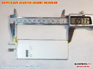 3 Lipo 3070mAh 4043B0 384v batterry