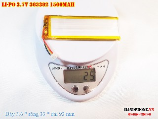 4 Lipo 1500mah 363392 37v battery 3pin