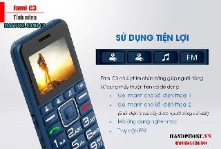 Chi tiết điện thoại masstel fami C3