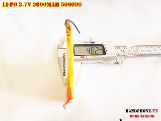 Pin Li Po 3 7V 506090 3000mAh bán tại Hà Nội Lithium Polymer