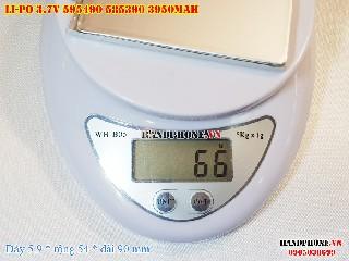4 Lipo 3950mAh 595490 37V Battery