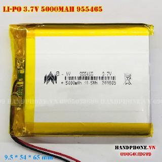 Pin Lipo 955465 3 7v 5000mAh
