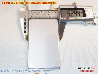 2 Lipo 3950mAh 595490 37V Battery