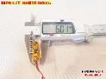 bán pin Lithium Polymer  Li Po  400mah 602035 tại hà nội