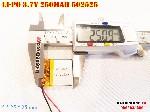bán pin Lithium Polymer  Li Po  250m 502525 3 7V tại hà nội