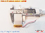 bán pin Lithium Polymer  Li Po  3 7V 750mah 503048 503050 tại hà nội