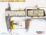 3 Lipo 500mAh 802035 37v battery