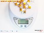 bán pin Lithium Polymer  Li Po  3 7V 50mah 501015 501016 tại hà nội Battery