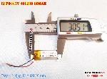 bán pin Lithium Polymer  Li Po  3 7V 110mAh 401230 tại hà nội battery