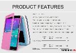 handphone Nillkin SPARKLE SS Note4N910 3