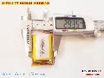 bán pin Lithium Polymer  Li Po  3 7V 1000mah 803040 tại hà nội battery