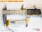 bán pin Lithium Polymer  Li Po  3 7V 700mah 602060 582060 tại hà nội Battery