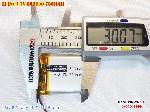bán pin Lithium Polymer  Li Po  3 7V 750mah 803030 tại hà nội Battery