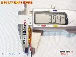 1 Lipo 180mAh 402030 37v battery