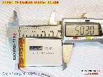 3 Lipo 650mAh 403450 37v battery