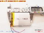 bán pin Lithium Polymer  Li Po  3 7V 2000mah 505068 525070 tại hà nội batterry