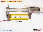 bán pin Lithium Polymer  Li Po  3 7V 1600mah 652680 652580 tại hà nội