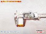 2 Lipo 500mAh 602535 37v battery