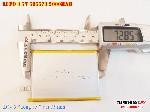 bán pin Lithium Polymer  Li Po  3 7V 2000mah 505573 505575 505570 tại hà nội