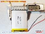 bán pin Lithium Polymer  Li Po  3 7V 3000mah 406080 3660080 tại hà nội Battery