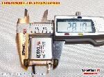 2 Lipo 800mAh 622832 Zoncell 38v battery