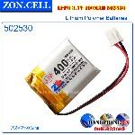 Pin li po ZonCell 400mAh 502530mm 2