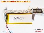 bán pin Lithium Polymer  Li Po  3 7V 6500mah 7949116 8050115 tại hà nội