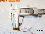 bán pin Lithium Polymer  Li Po  3 7V 1000mah 102050 cho thiết bị y tế tại hà nội Battery
