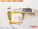 bán pin Lithium Polymer  Li Po  3 7V 2000mah 505060 485060 tại hà nội