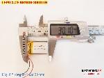 3 Lipo 300mah 602030 37V battery