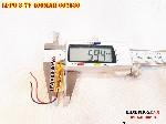 Pin Li Po 3 7V 602530 400mAh bán tại Hà Nội Lithium Polymer