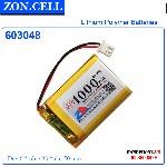 bán Pin Lithium Polymer Lipo Zoncell 100mAh 603050 3 7v tại hà nội