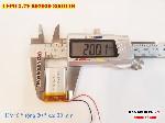 2 Lipo 300mah 602030 37V battery