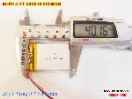bán pin Lithium Polymer  Li Po  500mah 3 7V 503040 tại hà nội battery