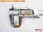 bán pin Lithium Polymer  Li Po  3 7V 110mah 401525 451525 tại hà nội Battery